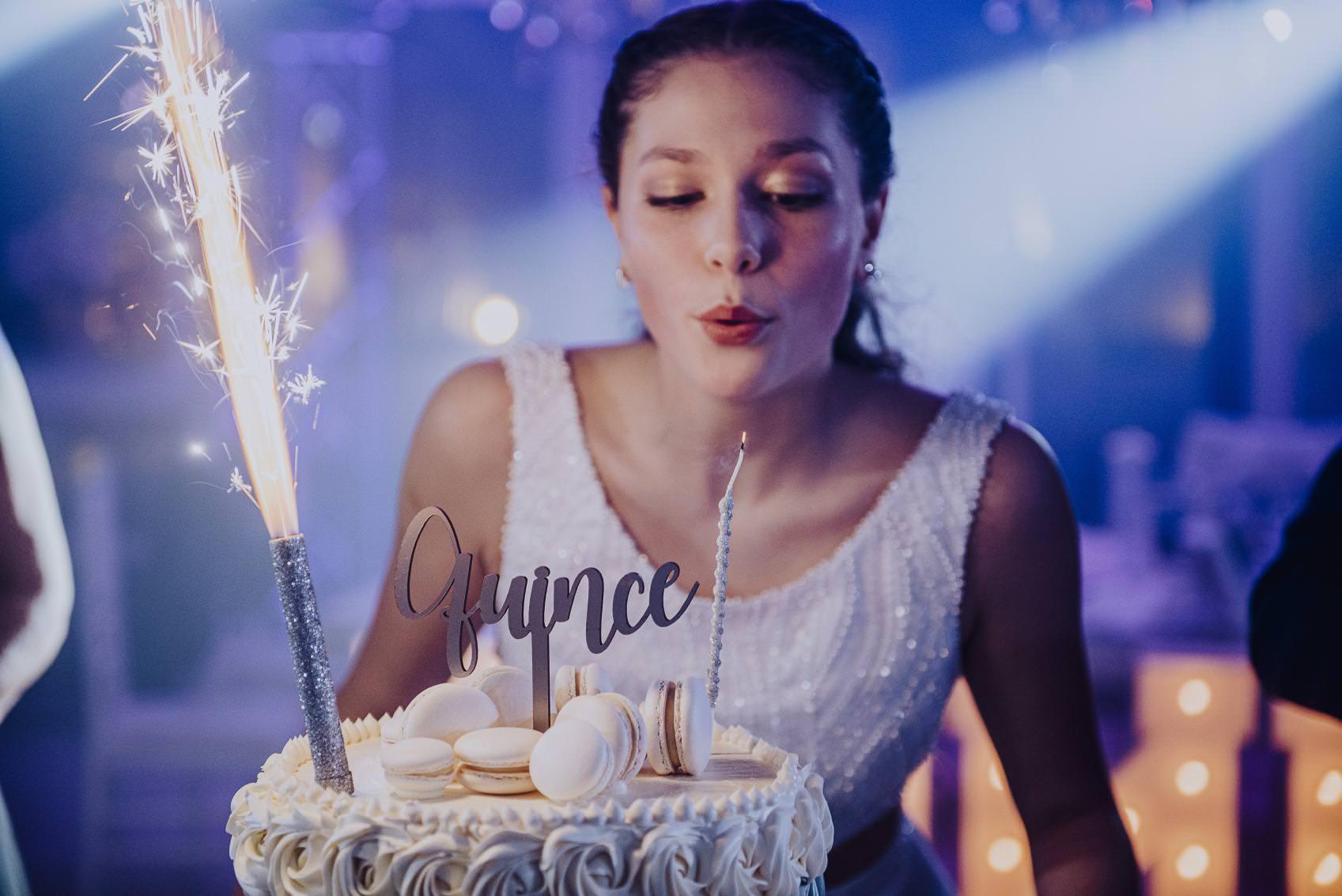 Cumpleaños quince Camila